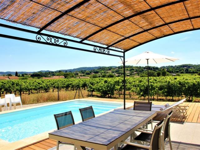 vakantiewoning met privé zwembad Zuid-Frankrijk