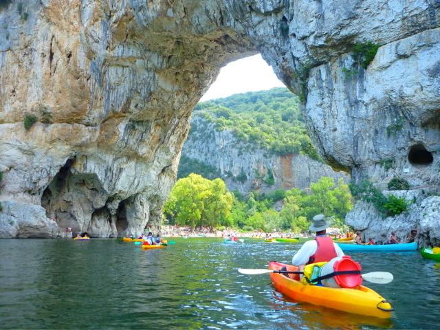 Ardèche kajak vakantiehuis met zwembad