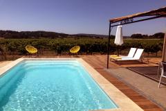 villa frankrijk zwembad